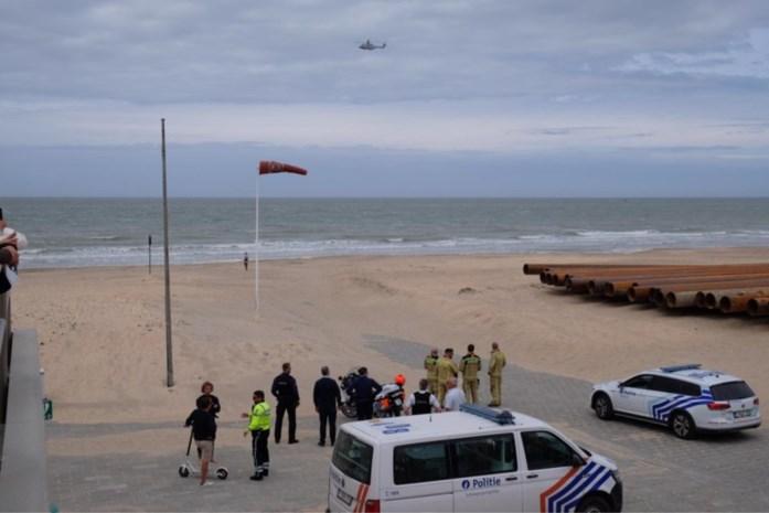Grote zoekactie opgezet na oproep voor vermiste surfer in De Panne: vals alarm