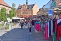 Maandagmarkt in Peer terug gestart met veiligheidsmaatregelen