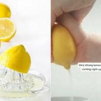 Zo knijp je volgens TikTok een citroen uit zonder morsen en fruitpers