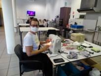 Crea-atelier van De Botermijn maakt mondmaskers