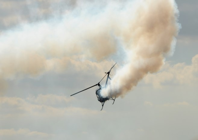 Vier doden bij crash van Russische helikopter