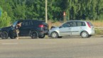 Twee chauffeurs gewond na kop-staartbotsing in Genk