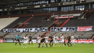 Duitse sportclubs hebben miljard euro nodig op pandemie te overleven