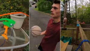Één basketbal en 70 obstakels: Youtuber lanceert straffe video die je moet gezien hebben