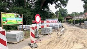 Werken in de Kinderboerderij Domein Pietersheim in volle uitvoering