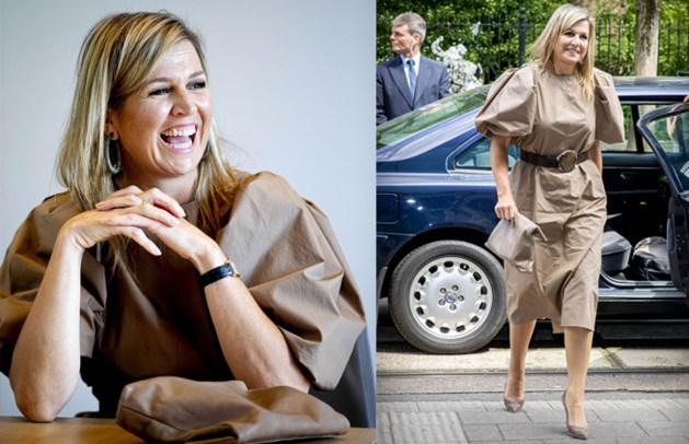 Koningin Máxima draagt H&M-jurk van 50 euro
