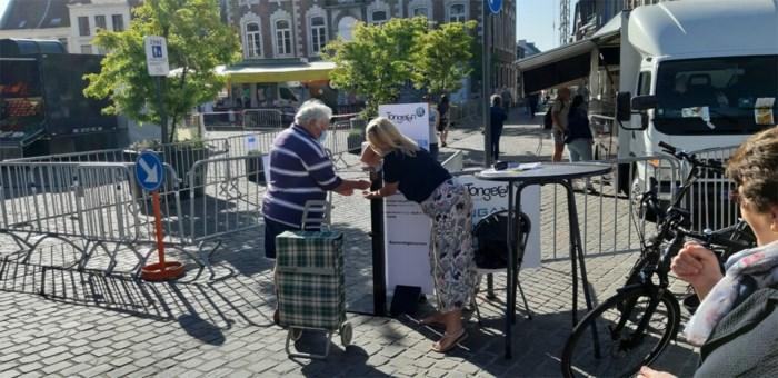 Tongeren markt direct volzet met 230 bezoekers voor 70 kramen