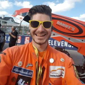 Daniele Alfarano is baancommissaris in F1-races