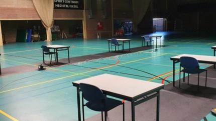 Hechtel-Eksel laat jongeren studeren in sporthal