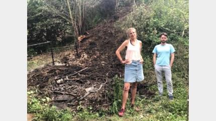 Brand in stapel snoeihout zet Tiendenberg in lichterlaaie
