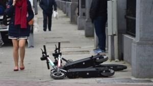 Elke week belandt In Brussel een gebruiker van een elektrische step in het ziekenhuis
