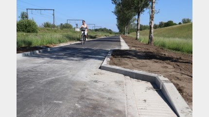 Beckersvaart heraangelegd als fietsstraat