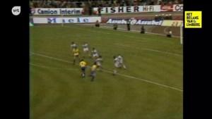 RETRO. THOR Waterschei pakt in 1980 als eerste Limburgse club de Belgische beker