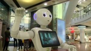 Robots in winkelcentra om verspreiding coronavirus te voorkomen