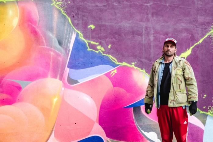 Even geen Hollywood, dan maar graffiti voor Matthias Schoenaerts