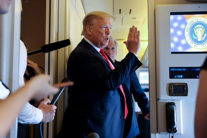 President Trump wil G7-top uitstellen en Rusland in de toekomst weer uitnodigen