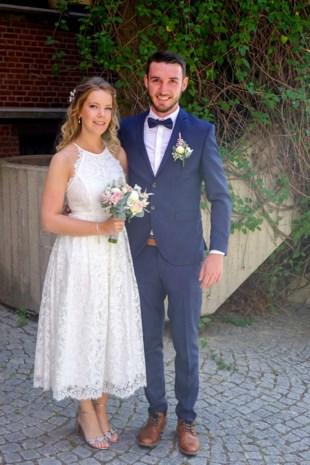 Nathalie en Kevin in Diepenbeek