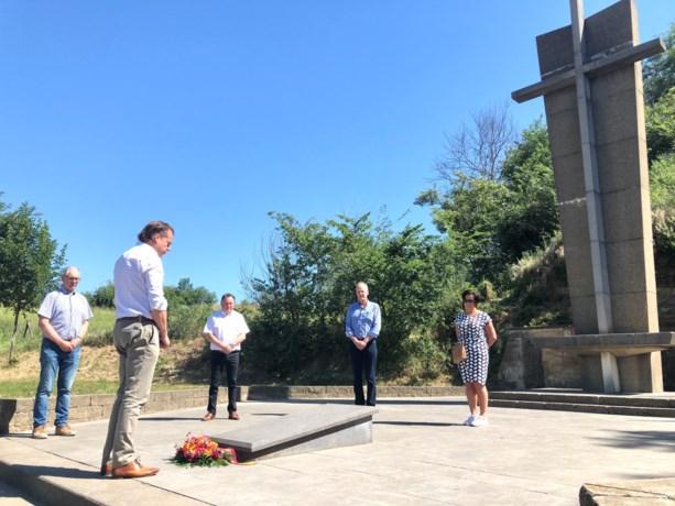 Sobere herdenking van de Roosburgramp in Zichen