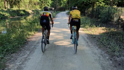 Wynants rijdt gravelrit van 323 kilometer met Van Aert: