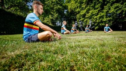 Jelle Geens en co dromen met yoga van olympische medaille