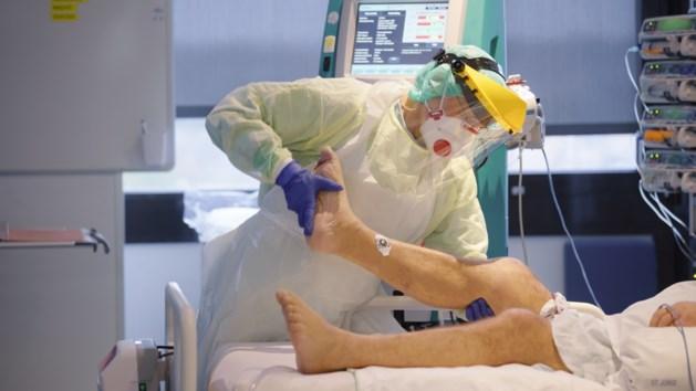 Coronagrafiek in Limburgse woonzorgcentra en ziekenhuizen zakt stilaan naar nulpunt