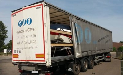 Politie ontdekt schuivende boot in oplegger tijdens controles in Sint-Truiden