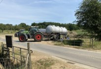 Landbouwers en fruittelers halen toch water uit beken