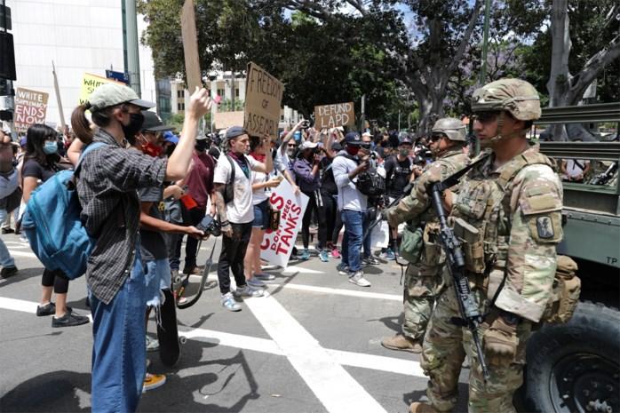 Trump wil leger inzetten tegen eigen burgers, maar gouverneurs verzetten zich
