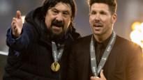 Diego Simeone moet bij Atlético Madrid na negen jaar verder zonder zijn trouwe assistent