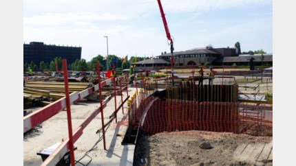 Kruispunt aan Provinciehuis in augustus weer open