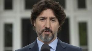 Trudeau heeft letterlijk geen woorden voor Trumps reactie op hevige protesten