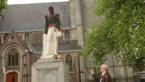 Standbeeld Leopold II in Ekeren in brand gestoken