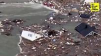 Huizen in zee gesleurd door aardverschuiving in Noorwegen