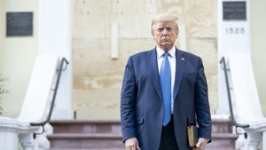 Medische keuring Trump: ruim 110 kilo en gezond, ook na hydroxychloroquine