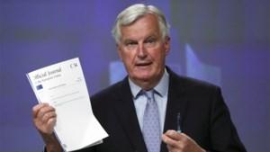 EU-onderhandelaar Barnier ziet geen vooruitgang in onderhandelingen met Londen