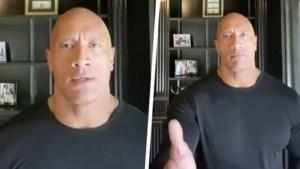 Dwayne 'The Rock' Johnson haalt uit naar Donald Trump in krachtige videoboodschap