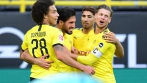 Axel Witsel en Thorgan Hazard gunnen Bayern München titel nog niet na nipte zege tegen Hertha Berlijn