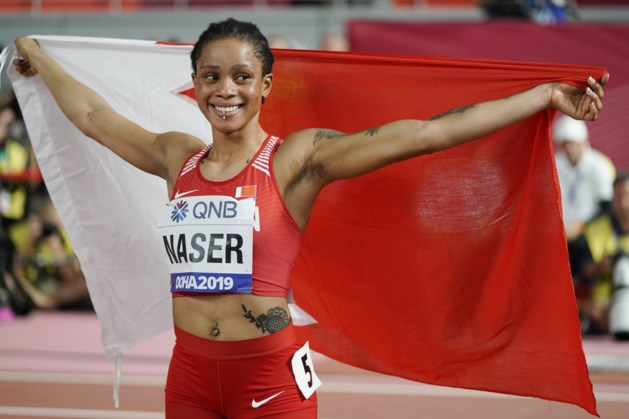 Bahreinse wereldkampioene Salwa Eid Naser schreeuwt onschuld uit na drie gemiste dopingcontroles
