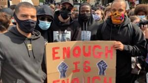 Broer en vrouw van Kompany betoogden mee tegen racisme