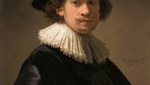 Uitzonderlijk zelfportret van 26-jarige Rembrandt te veil bij Sotheby's