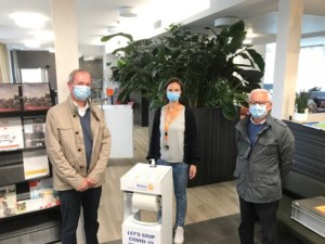 Rotary Neerpelt-Dommelvallei schenkt hygiënezuiltjes