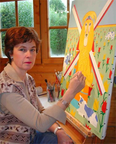 Monique De Rae stelt tentoon Italiaanse Mantova