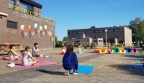 Yoga tijdens heropstart basisschool Kosmos