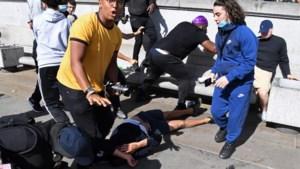 Black Lives Matter betoging loopt uit in rellen