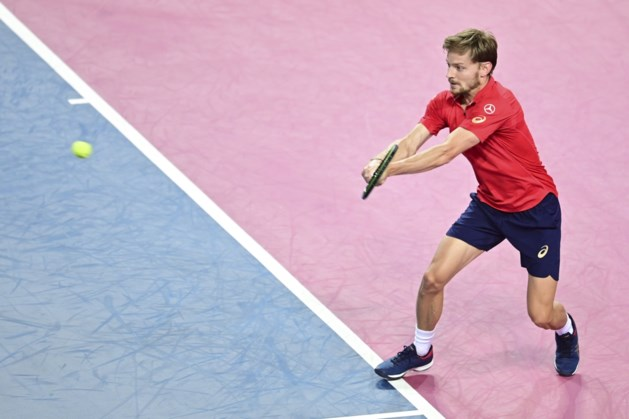 David Goffin verliest op sudden death van Richard Gasquet in Ultimate Tennis Showdown