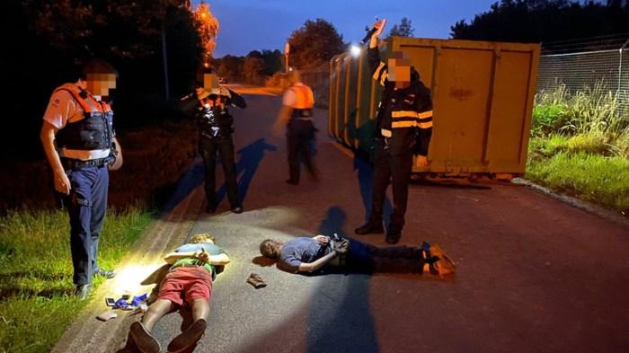 Twee mannen uit Luikse aan bedrijventerrein opgepakt: vrij na verhoor