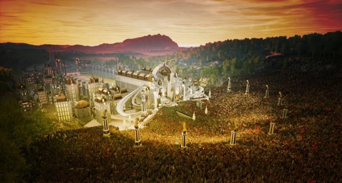 Zo ziet het virtueel sprookjespodium van Tomorrowland eruit