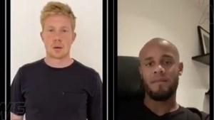 """Kevin De Bruyne en Vincent Kompany delen krachtige boodschap tegen racisme in video: """"Wij zijn het beu"""""""