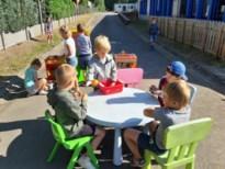 Kleuters Methodeschool Ondersteboven leren en spelen buiten