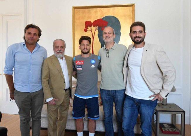 Het is officieel: Dries Mertens blijft nog minstens twee jaar bij Napoli